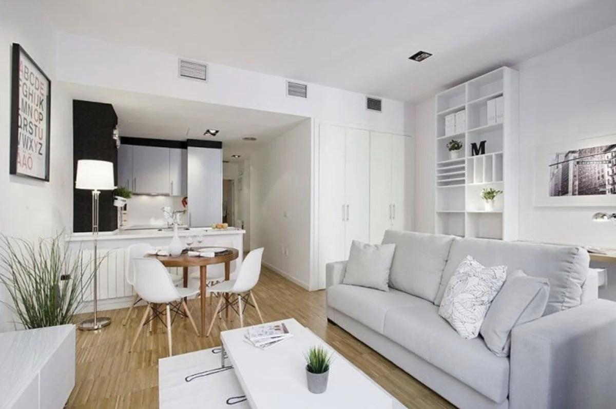 Idee arredamento soggiorno arredamento casa moderna fresco idee. Cucina Salotto Open Space Piccoli Spazi Foto Idee