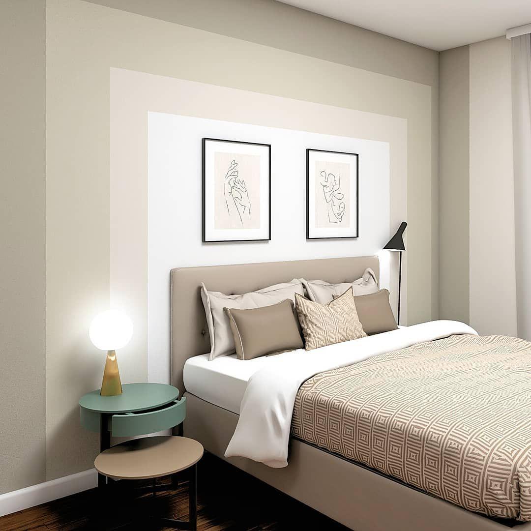 camera da letto matrimoniale moderna composta da armadio a 3 ante scorrevoli, letto, comò a 3 cassetti e 2 comodini con 2 cassetti. Arredare Camera Da Letto In Stile Moderno