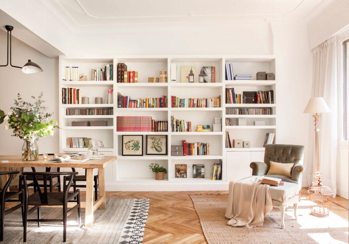 Le strutture in cartongesso, soprattutto parlando di librerie, pareti attrezzate &co,. Pareti In Cartongesso Idee Per Il Soggiorno 5 Proposte Versatili E Moderne