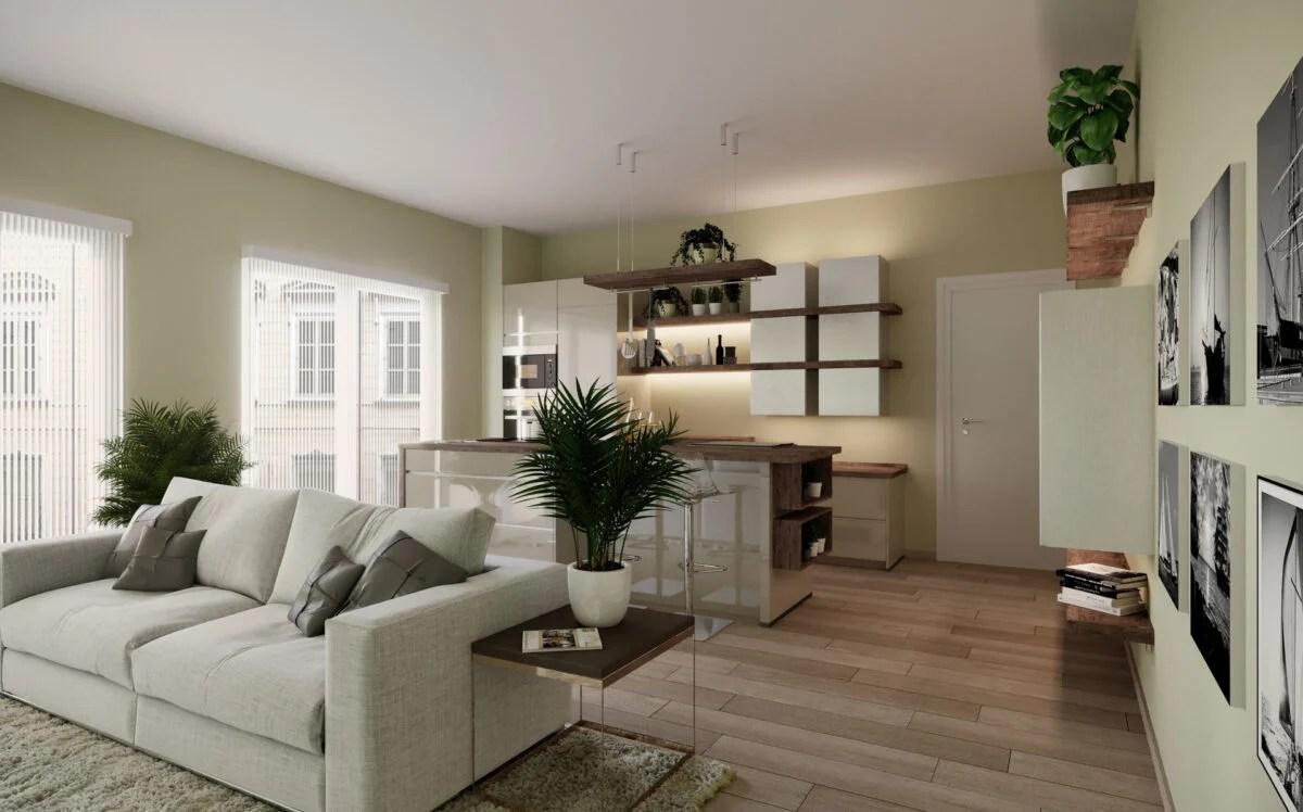 arredare un piccolo spazio in casa è possibile, il trucco è riuscire a sfruttare quanto più spazio possibile nell'ambiente che si ha a disposizione. Idee Per Arredare Un Appartamento Di 80 Mq