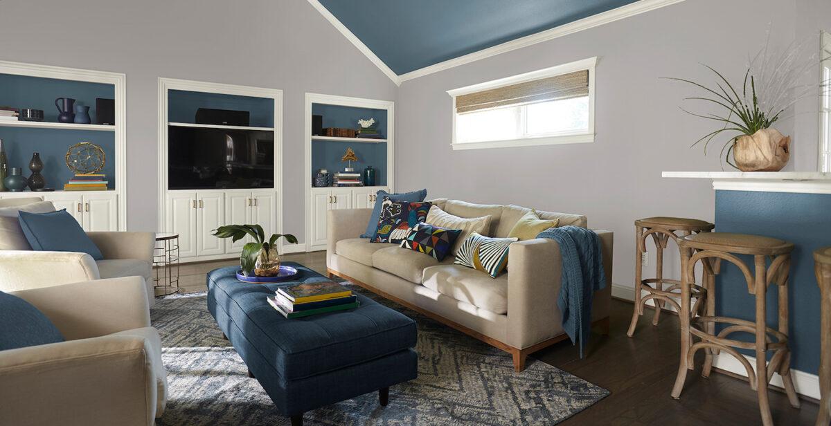 Il nero, molto amato dai soggiorni moderni è impegnativo e si sceglie per ambienti. Soggiorno Pareti Color Carta Da Zucchero Idee E Abbinamenti