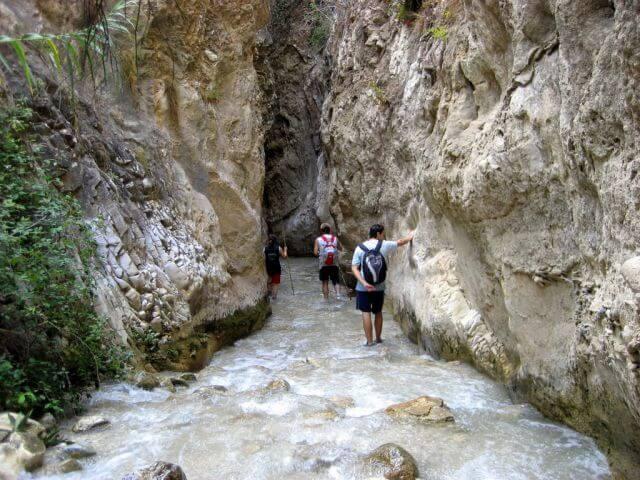 Ruta del río Chillar