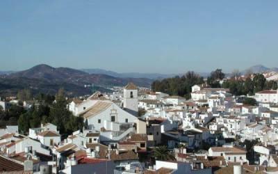 Colmenar , pueblo de la Axarquia