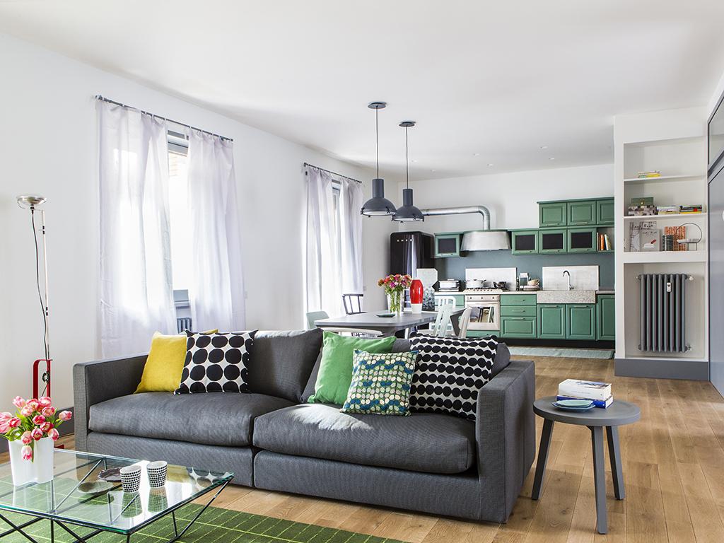 Sala da pranzo e salotto insieme piccoli 2022.ecco 15 soluzioni d'arredo tutte 15 idee spettacolari per un soggiorno + sala. Cucina E Soggiorno Unico Ambiente Moderno 2022 Fundomega1 Com