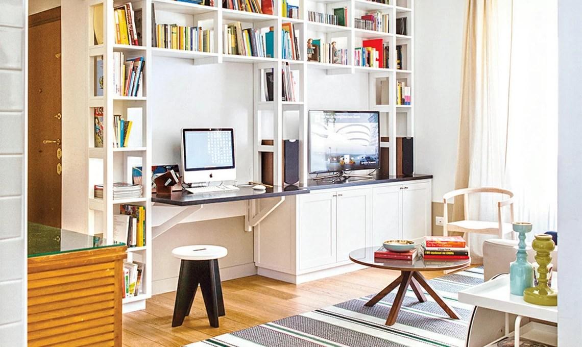 Come ricavare un angolo studio in soggiorno; 10 Idee Per L Angolo Studio Casafacile