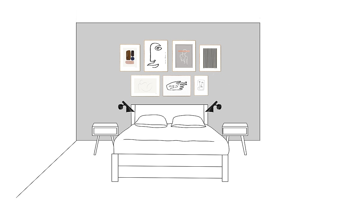 Scopri le migliori idee per una camera matrimoniale esclusiva e di. Come Decorare La Parete Dietro Al Letto Casafacile