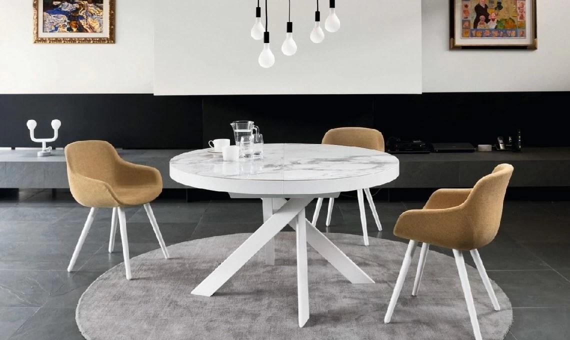 10 Tavoli Rotondi E Ovali Per La Sala Da Pranzo Casafacile