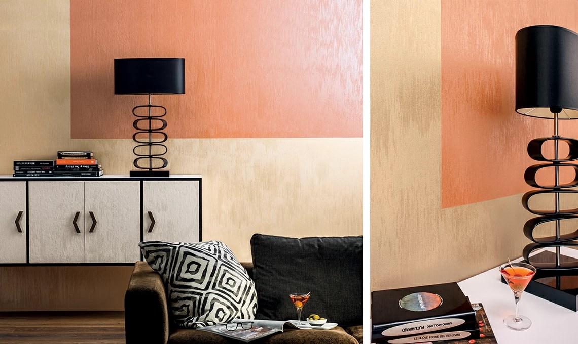 Pittura decorativa ecologica, capace di creare in base all'angolo della luce. Dona Luce Alle Pareti Con Le Pitture Effetto Seta Casafacile