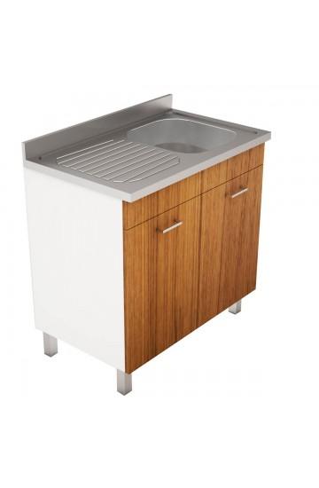 Vuoi acquistare dei mobili per comporre la tua cucina? Mobile Cucina Con Lavello In Acciaio Inox 120x50cm Pratika