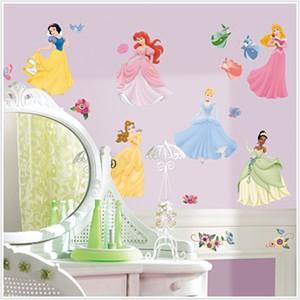 Adesivo muro bambini disney principessa trasparente di alta. Adesivi Murali Per Bambini Disney