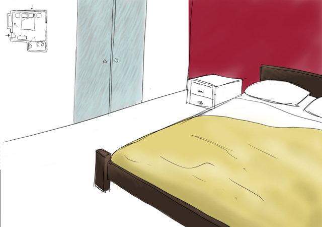 I colori per la stanza da letto rischiano di risultare sempre un po' Come Dipingere La Parete Dietro Al Letto