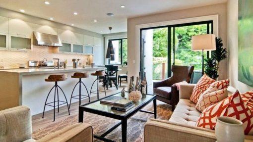 Come creare un piccolo open space di 25 mq arredando cucina e. Soggiorno Rettangolare Con Cucina A Vista 10 Idee Di Arredo