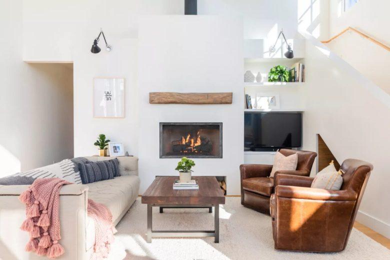 Nuove idee per dipingere casa il colore soprattutto, forse ancor più del disegno, è una liberazione. Soggiorno Pareti Color Bianco 10 Idee E Foto