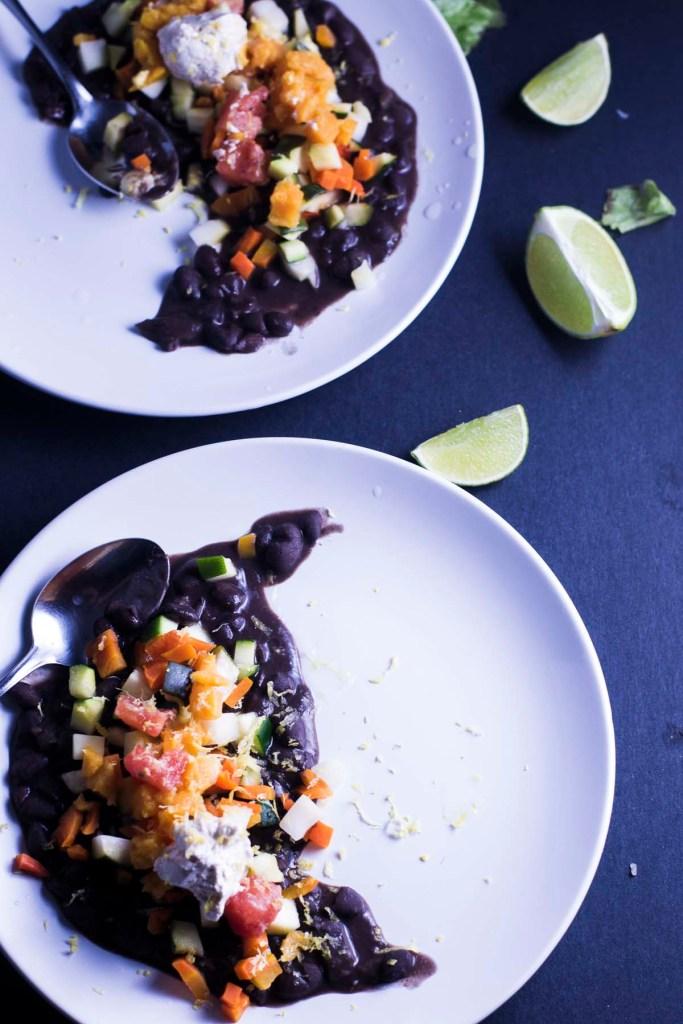 Black Bean Succotash