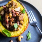 Pork Stuffed Acorn Squash