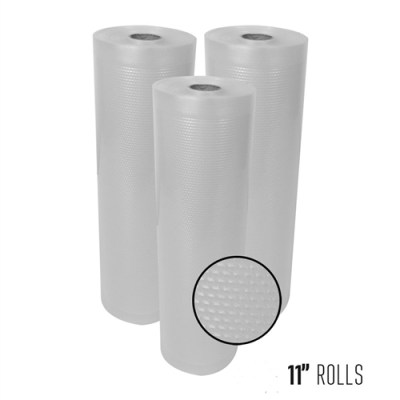 Vacuum Sealer Rolls 11in, 50 ft.