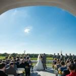 Patio ceremony, Wedding Ceremonies and Receptions at Casa Larga Vineyards
