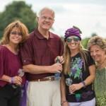 Customers enjoying Purple Foot Festival at Casa Larga Vineyards