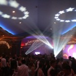 Lights and effects, Corporate Events at Casa Larga Vineyards