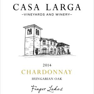 2014 Casa Larga Vineyards Hungarian Oak Chardonnay
