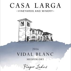 2016 Casa Larga Vineyards Vidal Blanc