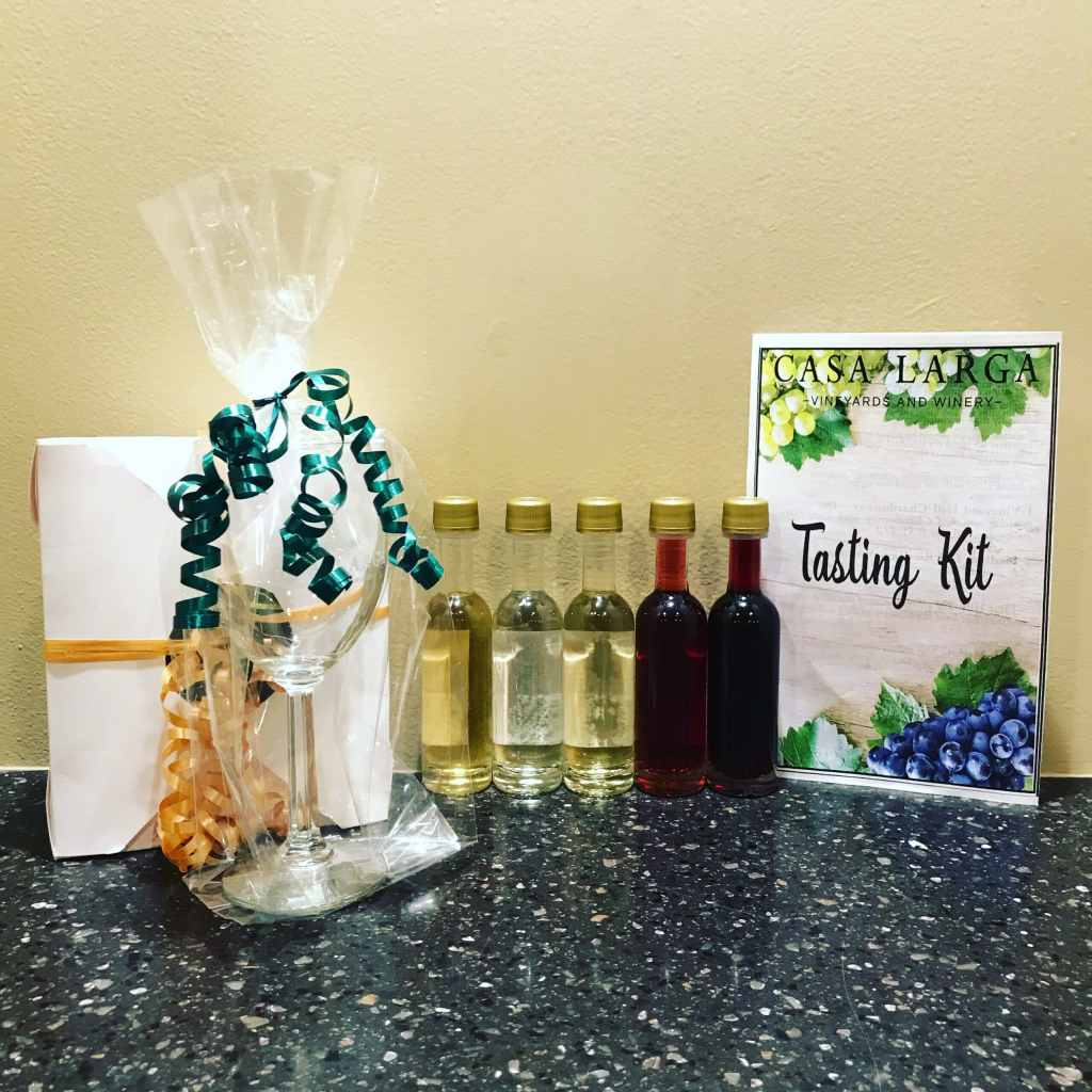 Sample Image of Tasting Kit