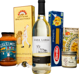 Pasta Toscana, Gift Baskets at Casa Larga Vineyards