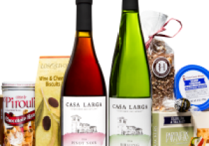 Ultimate Indulgence, Gift Baskets at Casa Larga Vineyards