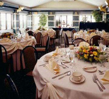 Room set up, Corporate and Special Events at Casa Larga Vineyards