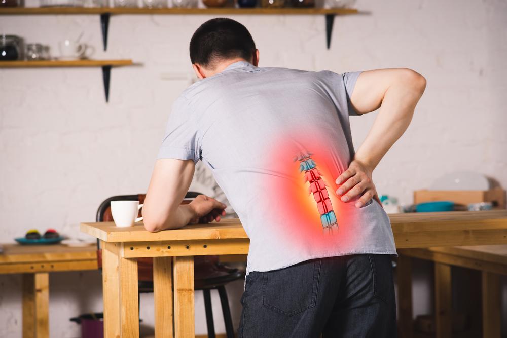 aliviar el dolor de espalda. 2