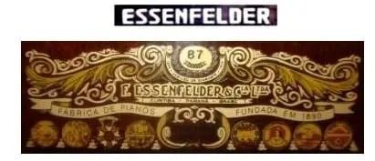 Piano usado Essenfelder