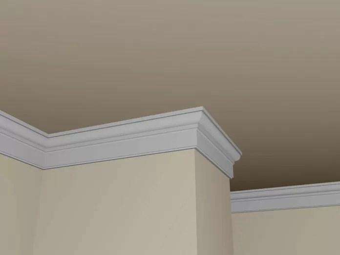Il gesso è molto meno caro dei pannelli in legno. Rinnovare Le Pareti Con Le Cornici Effetto Gesso Casa Live