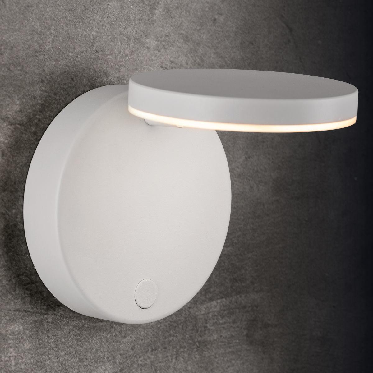 adjustable minimalist led wall light