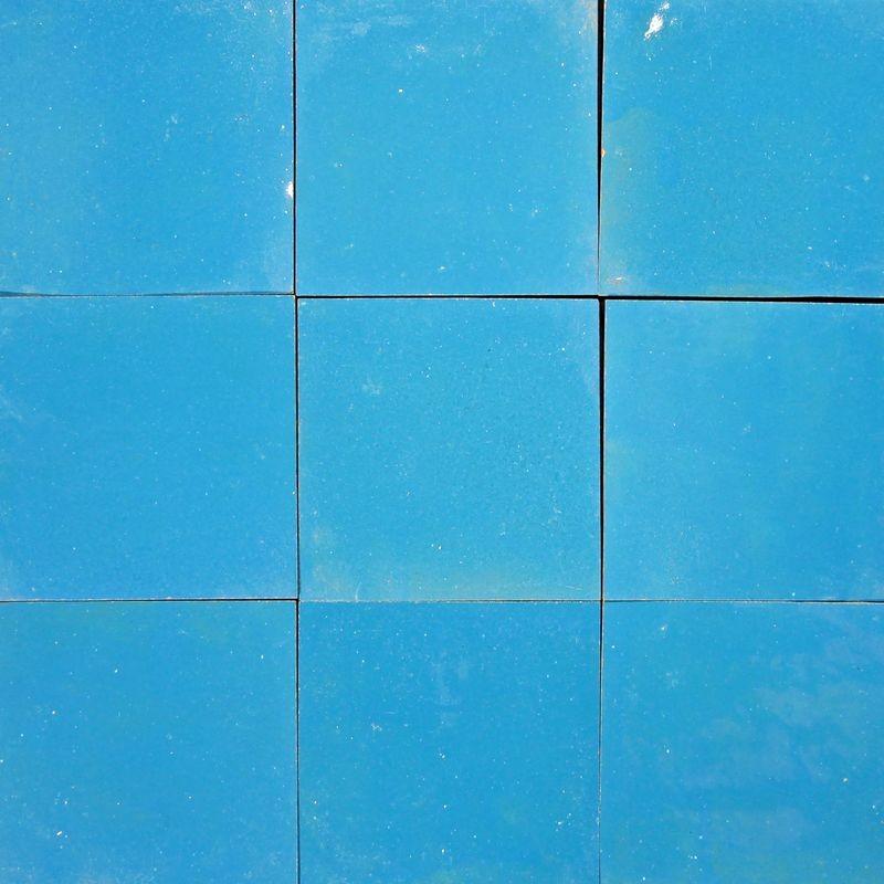 carrelage mural zellige manuel bleu turquoise 8