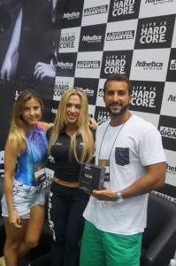 Nutricionista Esportiva e Atleta: Zane Braga.