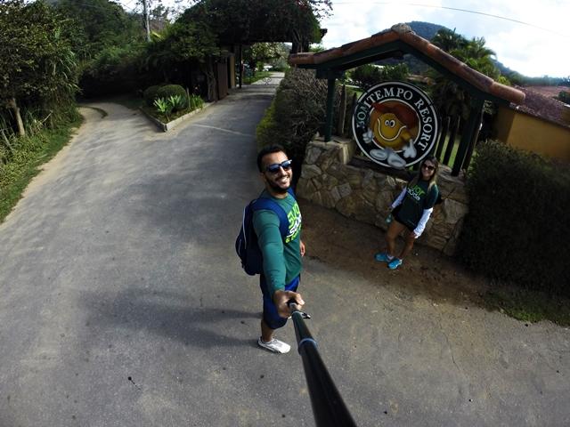 Entrada do Resort!