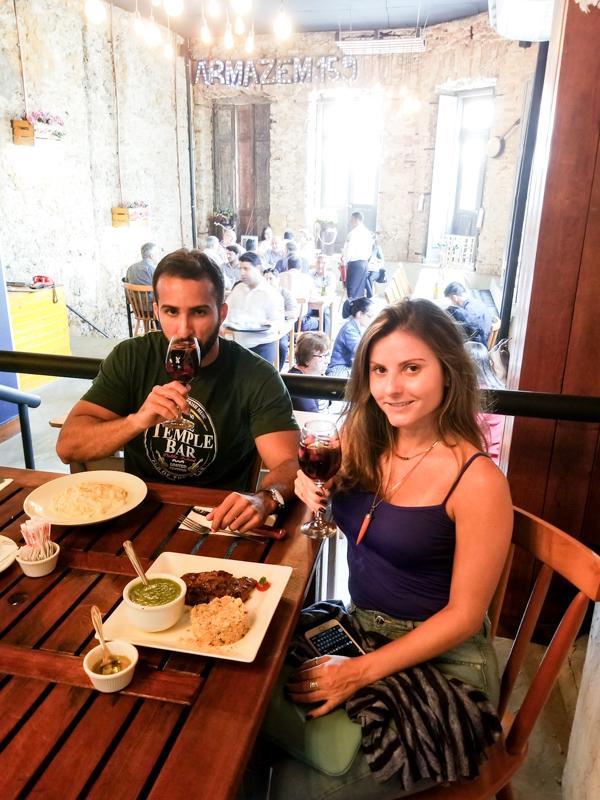 Onde Comer no Centro do Rio - Armazém 159