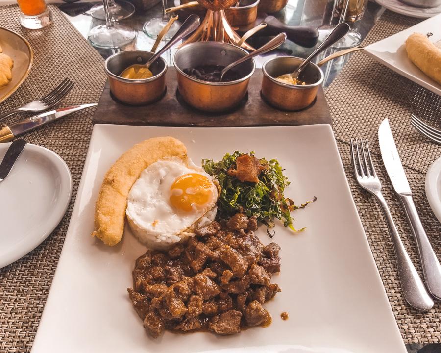 Menu de Almoço do Restaurante Rubaiyat