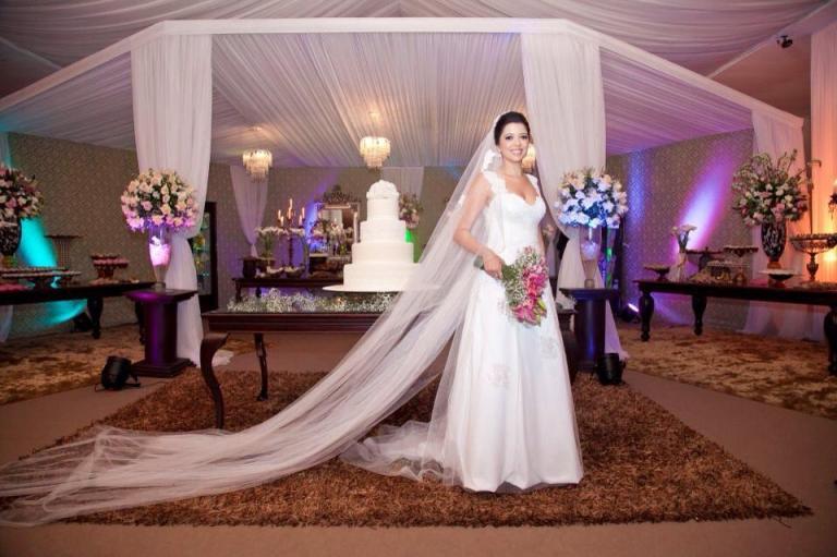 Vestido de noiva Fernanda Franco.