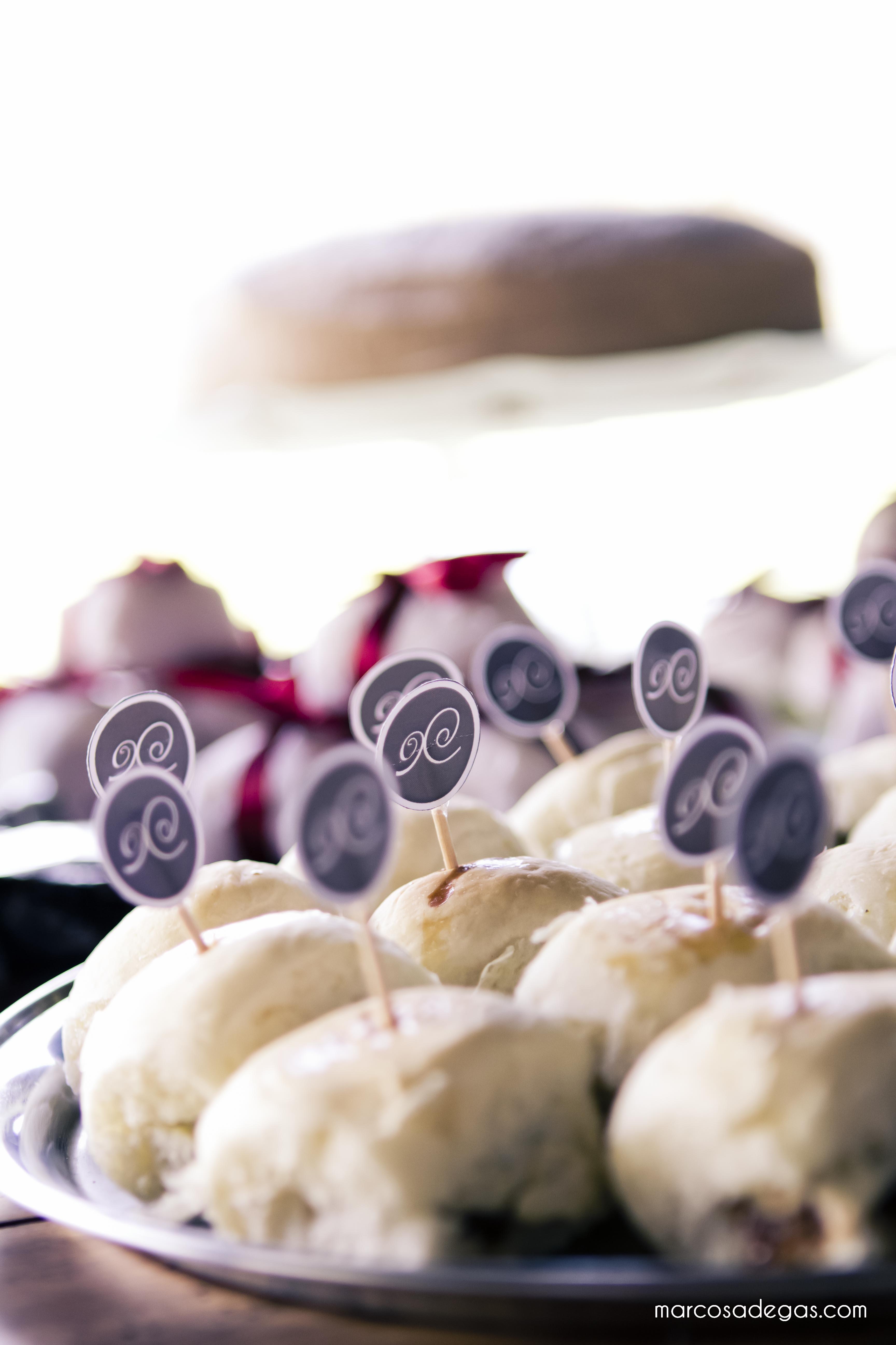 Mini hambúrgers da Mari Mari Guloseimas