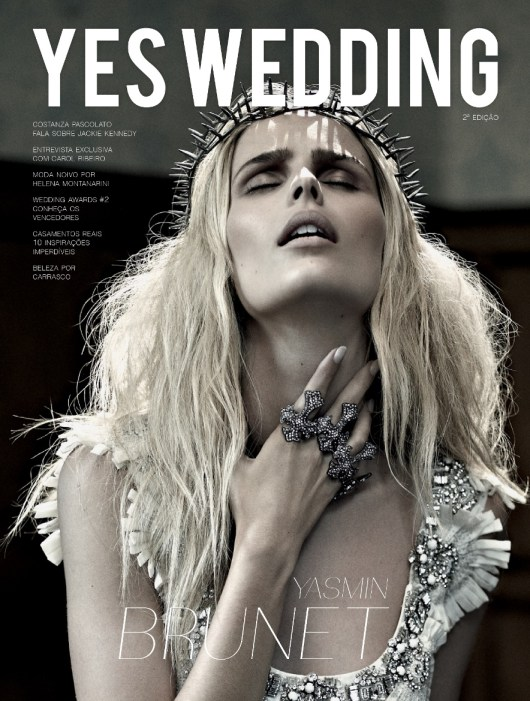 Capa da Revista YES Wedding.