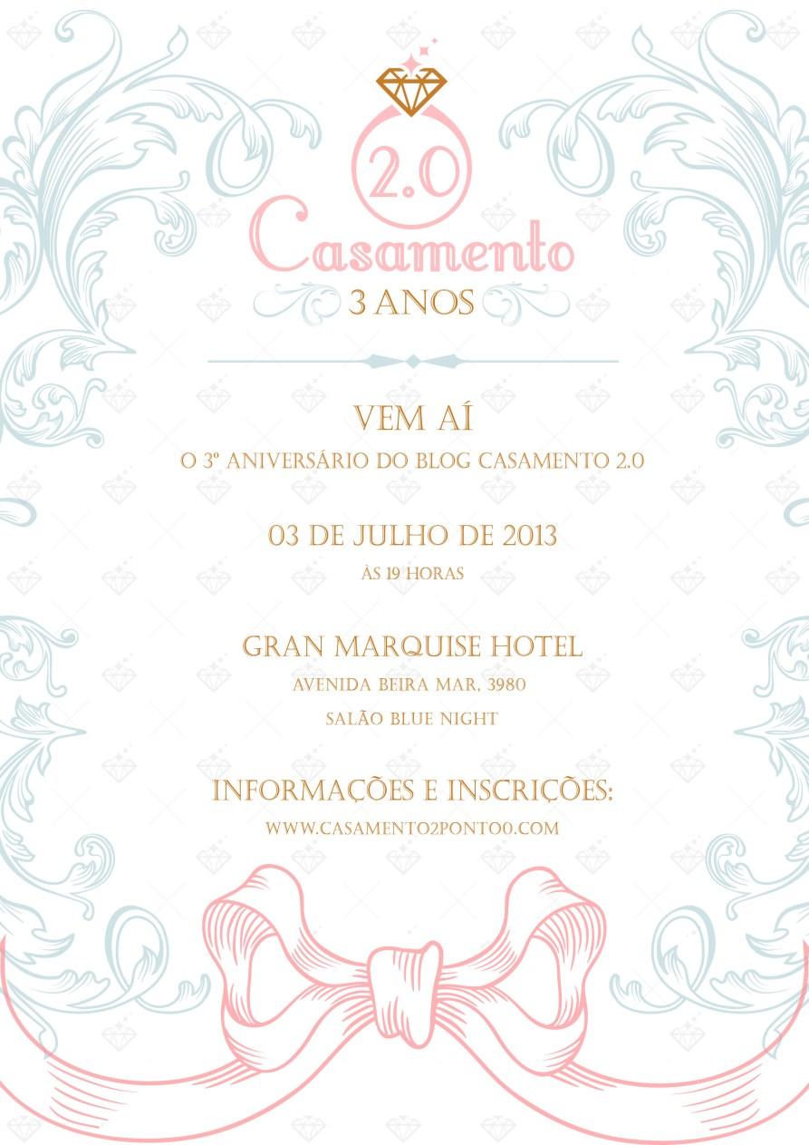 Casamento 2.0 - Convite