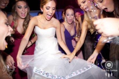 Casamento realizado por Gustavo D. Foto: Teia dos Sonhos.