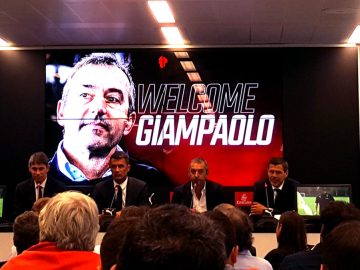 Welcome Marco Giampaolo AC Milan