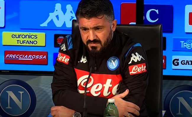 Gennaro Gattuso conferenza stampa Torino