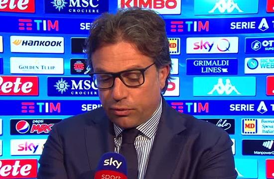 Cristiano Giuntoli - Napoli Sky prepartita