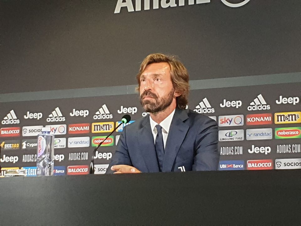 Juventus Napoli Pirlo conferenza stampa