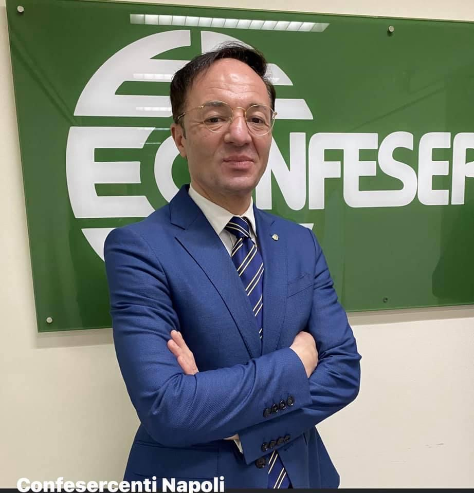 Vincenzo Schiavo Confesercenti tavolini
