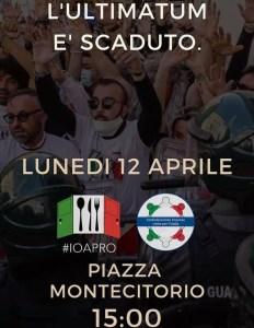 Marcia ventimila Montecitorio IoApro