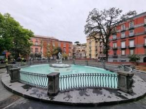 De Magistris Fontana Paparelle piazza Cavour